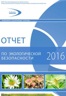 Отчет по экологической безопасности за 2016год